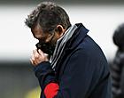 Foto: Montanier reageert woedend na zware nederlaag Standard