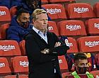 Foto: 'Koeman moet zich nu al grote zorgen maken bij Barça'