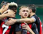 Foto: Saelemaekers krijgt rood bij rentree, maar Zlatan schenkt Milan winst