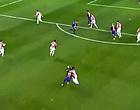 Foto: Messi verliest controle en mept tegenstander neer (🎥)
