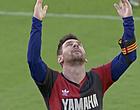 Foto: Jammer: Messi krijgt boete voor eerbetoon aan Maradona