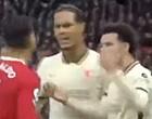Foto: Van Dijk pakt gefrustreerde Ronaldo hard aan (🎥)