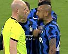 """Foto: Zware kritiek na rode kaart Vidal: """"Hoeveel betaalt Real de ref?"""""""