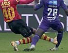 """Foto: KV Mechelen-fans furieus: """"Arm Belgisch voetbal"""""""