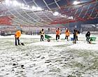 Foto: Sneeuwgevecht blijft duren: Moeskroen veegt klacht Genk van tafel