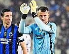 Foto: Mignolet en Vanaken bezorgen Club Brugge unicum