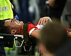 Foto: Vanheusden krijgt verlossend nieuws na zware blessure