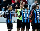 """Foto: Fans Club Brugge spuwen ref uit: """"Duidelijk kant gekozen"""""""