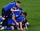 Foto: Oppermachtige Italianen als eerste naar 1/8ste finales EK