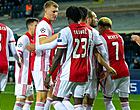 Foto: Ajax laat zich thuis verrassen en kan koppositie kwijtspelen