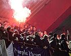 Foto: Anderlecht-aanhang uit scherpe kritiek na Clasico