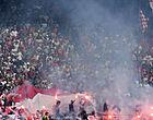 Foto: Antwerp tikt eigen fans stevig op de vingers