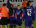 Foto: Anderlecht redt ternauwernood een punt in Moeskroen