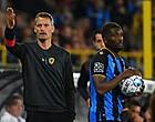 Foto: Blessin schat kansen van Club Brugge tegen RB Leipzig in