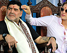"""Foto: Maradona fileert Barça vanwege Messi: """"Ik wist het"""""""