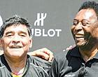 Foto: Pelé brengt opnieuw prachtig eerbetoon aan Maradona