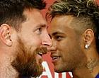 """Foto: Neymar wakkert transfergerucht Messi aan: """"Volgend seizoen"""""""