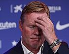 Foto: Koeman laat zich uit over extrasportieve problemen bij Barça