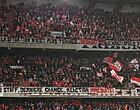 Foto: Fans Standard laten onvrede over Venanzi en Grosjean merken