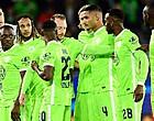 Foto: Wolfsburg-Belgen in problemen: fans roeren zich