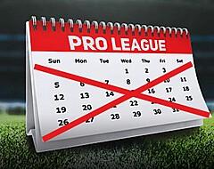 De kalenderklucht: hoe Pro League zichzelf voor schut blijft zetten