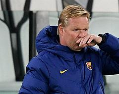 Bestuur van FC Barcelona tikt Koeman op de vingers
