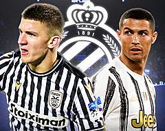 Club mikt hoog met type-Cristiano Ronaldo