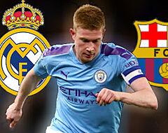 Real of Barça: waar zou De Bruyne het beste passen?