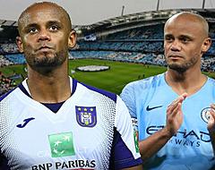 De prestaties van Kompany: Anderlecht vs Man City