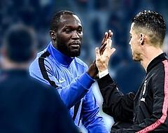 Lukaku vervangt Messi: de strijd tussen Ronaldo en 'Big Rom' in cijfers