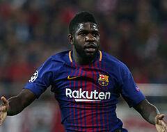 'FC Barcelona ontslaat Umtiti in januari'