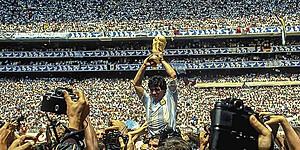 Foto: De mythe van Maradona: Belgen als rode draad