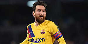 Foto: 'Toekomst Messi kan drastische wending nemen'