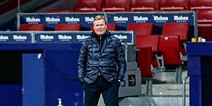 Foto: 'Zorgen bij Koeman: Barça toch transfermarkt op'