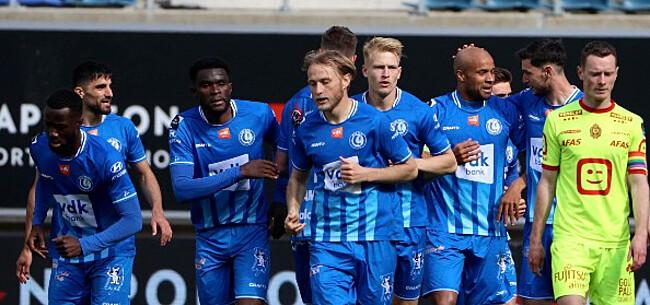 Foto: Vanhaezebrouck haalt debutant bij selectie Gent
