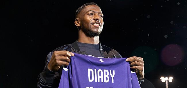 Foto: Anderlecht moet pittige som neerleggen voor transfer Diaby