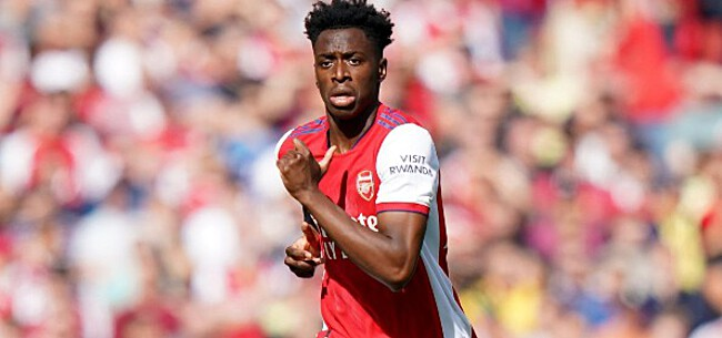 Foto: Lokonga maakt indruk bij Arsenal