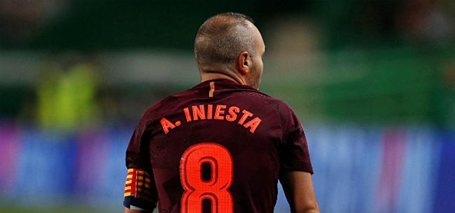 Foto: Iniesta komt met opmerkelijk nieuws over zijn toekomst