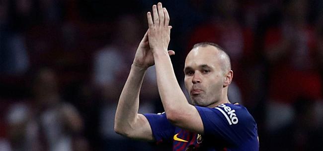 Foto: 'Barcelona heeft 60 miljoen veil voor opvolger Iniesta'
