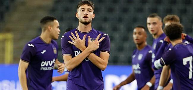 Foto: Anderlecht-aanvaller slikt opnieuw bittere pil