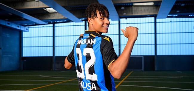 Foto: Miljoenenaanwinst Club Brugge titularis in Youth League