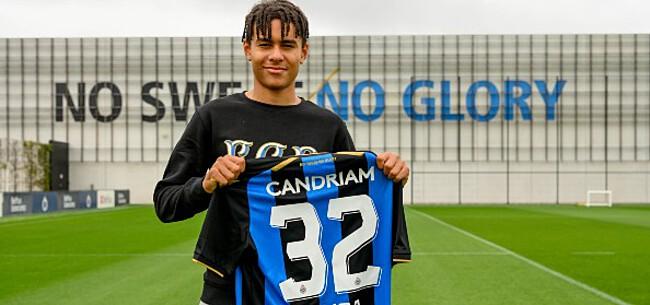 Foto: Club Brugge-aanwinst moet zich tonen in Youth League