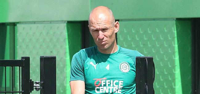 Foto: Robben schept duidelijkheid over zijn toekomst bij FC Groningen