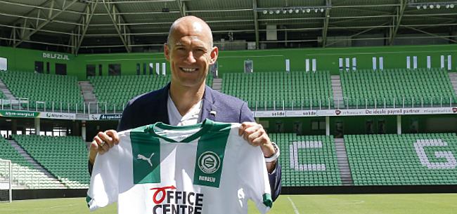 Foto: Robben moet al meteen comebacktraining missen, maar stelt gerust