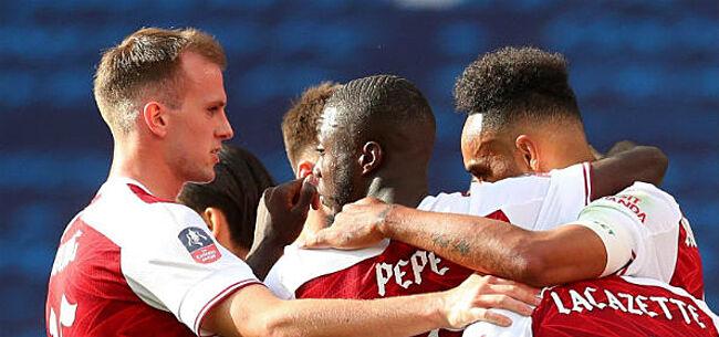 Foto: Arsenal vecht zich naar Europees voetbal met vierde FA Cup zege in zeven jaar