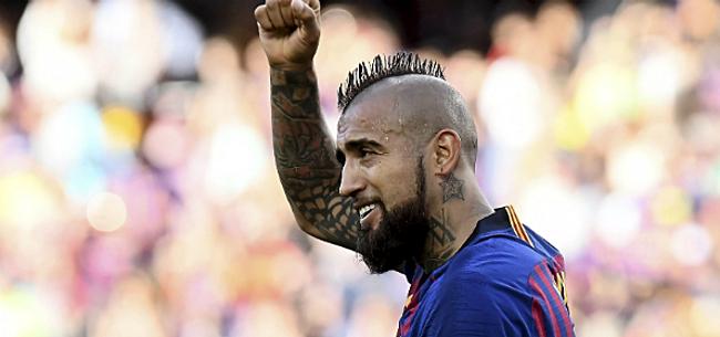 Foto: 'Deal rond: Barça laat Vidal gaan voor belachelijk laag bedrag'