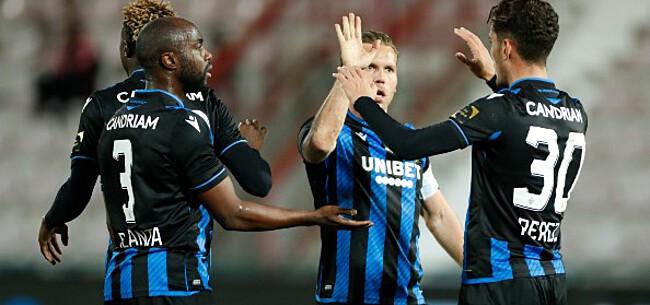 Foto: Club Brugge krijgt derde opsteker voor start CL-campagne
