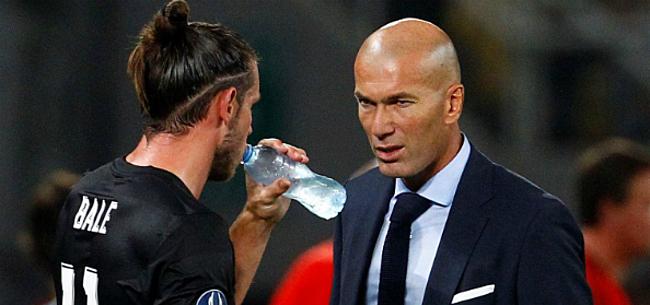 Foto: 'Zidane heeft het volledig gehad met provocaties Bale'