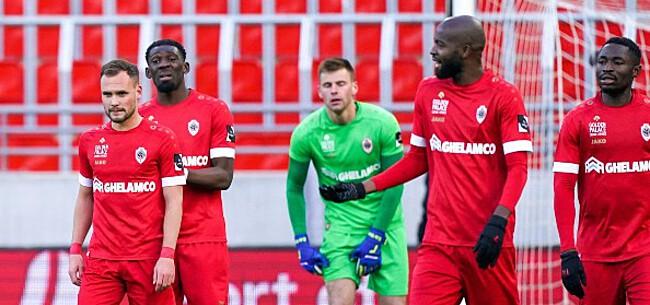 Foto: Oorzaak voor non-match Antwerp: