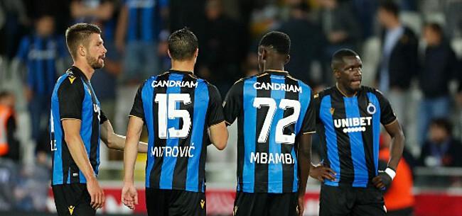 Foto: Club Brugge met voeten op grond gezet: